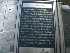 かっぱ橋石碑