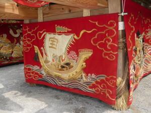 宝船のデザイン