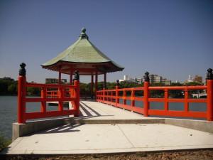 浮見堂(近景)