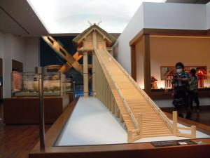 高さ48mの神殿模型