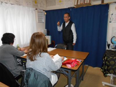タロット教室風景